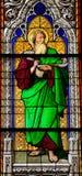 Der Prophet Ezekiel stockfoto