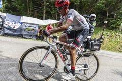 Der Radfahrer Alberto Contador - Tour de France 2017 stockfotografie