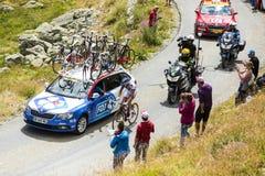 Der Radfahrer Alexandre Geniez - Tour de France 2015 Stockbild
