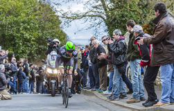 Der Radfahrer Daniel Mc Lay - Paris-nettes 2016 Stockfoto