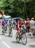 Der Radfahrer Evans Cadel Lizenzfreie Stockfotos