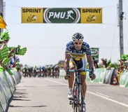 Der Radfahrer Juan Antonio Flecha Giannoni Stockfotos