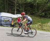 Der Radfahrer Louis Meintjes - Tour de France 2017 lizenzfreies stockbild
