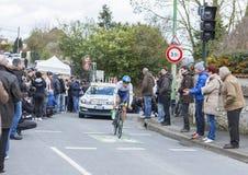 Der Radfahrer Magnus Cort Nielsen - Paris-nettes 2016 Lizenzfreie Stockbilder