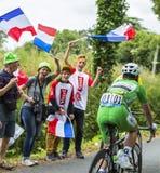 Der Radfahrer Mark Cavendish - Tour de France 2016 stockfoto