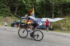 Der Radfahrer Michael Matthews - Tour de France 2017 stockfotografie
