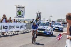 Der Radfahrer Murilo Antonio Fischer Stockfotos