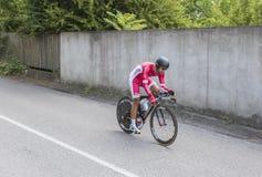 Der Radfahrer Nacer Bouhanni - Criterium du Dauphine 2017 Lizenzfreies Stockbild