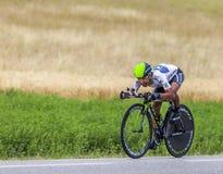 Der Radfahrer Nairo Alexander Quintana Rojas Stockfotografie
