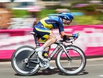 Der Radfahrer Nuyens Nick Stockbild