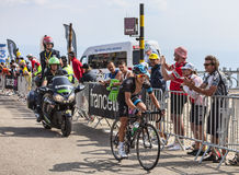 Der Radfahrer Richie Porte Lizenzfreies Stockfoto