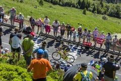 Der Radfahrer Romain Sicard - Tour de France 2016 Stockbild