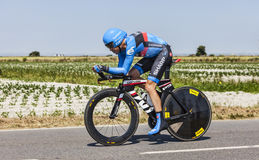 Der Radfahrer Thomas Danielson Lizenzfreie Stockbilder