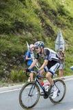 Der Radfahrer Tom Dumoulin Lizenzfreie Stockfotos