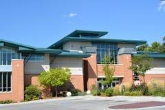 Der Rat täuscht Iowa-öffentliche Bibliothek Stockfotos