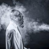 Der Rauch stockfotografie