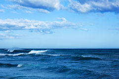 Der raue Ozean Stockbilder