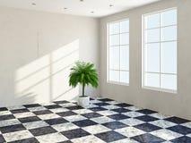 Der Raum mit Fenster Lizenzfreies Stockbild