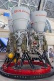 Der Raumpavillon in der Gesamt-Russland-Ausstellungs-Mitte Lizenzfreie Stockfotos
