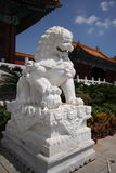 Der rebuilded yuanming Palast Lizenzfreie Stockfotos