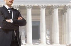 Der Rechtsanwalt Lizenzfreies Stockbild