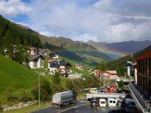 Der Regenbogen Stockbild