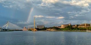 Der Regenbogen Stockbilder