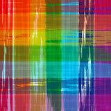 Der Regenbogen-gekrümmten Linien der abstrakten Kunst bunter Hintergrund Lizenzfreie Stockfotografie