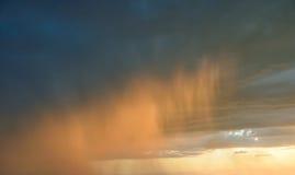 Der regnerische Himmel Lizenzfreies Stockfoto