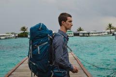 Der Reisende lizenzfreie stockfotos