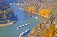 Der Rhein lizenzfreie stockfotografie