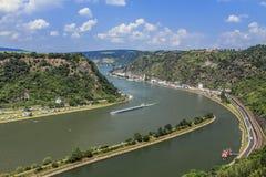 Der Rhein Lizenzfreie Stockfotos