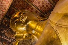 Der riesige Buddha in Wat Pho, Thailand Lizenzfreie Stockfotos