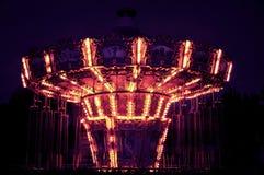 Der riesige Schritt in der Nacht, Shijingshan-Unterhaltung parkï ¼ ŒBeijing, China Stockbilder