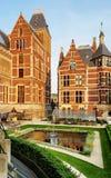 Der Rijksmuseum-Garten, Amsterdam stockbilder