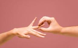Der Ring + der PFAD Lizenzfreies Stockbild
