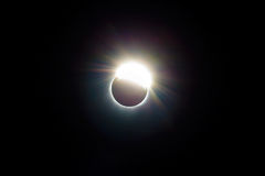 Der Ring von Sonnenfinsternis 2017 USA Vereinigte Staaten Stockfotos