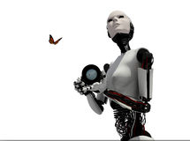 Der Roboter Stockfotografie
