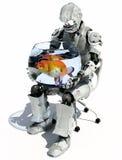 Der Roboter stockfoto