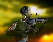 Der Roboter Lizenzfreies Stockbild