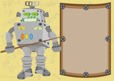 Der Roboter - Lehrer Lizenzfreies Stockfoto