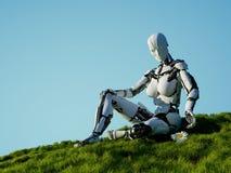 Der Roboter vektor abbildung
