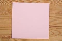 Der rosa quadratische freie Raum Lizenzfreies Stockfoto