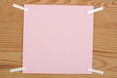 Der rosa quadratische freie Raum Lizenzfreie Stockfotos