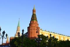Der rote Kontrollturm Stockfoto