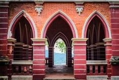 Der rote Pavillon Lizenzfreie Stockfotografie