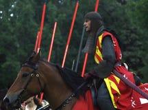Der rote Ritter Lizenzfreies Stockbild