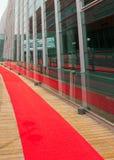 Der rote Teppich Stockbilder