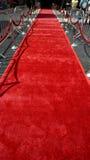 Der rote Teppich Stockbild