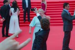 Der rote Teppich des MIFF 38 - Eröffnung des Festivals Stockfoto